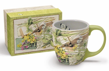 "Lang & Wise Mug - ""Nature's Journal"" - Artist Marjolein Basain"