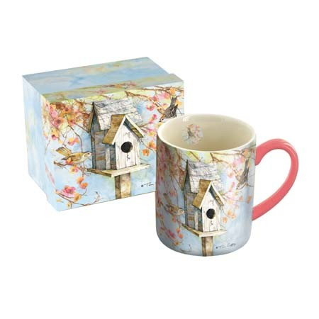 "Lang & Wise Mug - ""Summer Birdhouse"" - Artist  Tim Coffey"