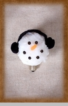 "Light Bulb - ""3 Watt Snowman Bulb"""