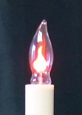 Light Bulb - Flicker Flame Candle Light Bulb