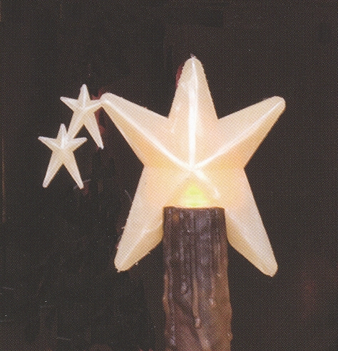 "Light Bulb - ""Star Showers Light Bulb"" - 3 Watt"