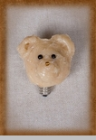 "Light Bulb - ""Tan Bear Head Light Bulb"""