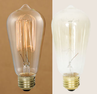 "Light Bulb - ""Vintage Bulb 40 Watt"""