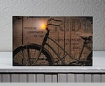 Lighted Canvas Pictures -  Battery operated lights flicker!!!