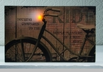 """Lighted Canvas Pictures - """"Bike Ride"""""""