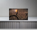 "Lighted Canvas Pictures - ""Bike Ride"""