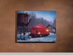 "Lighted Canvas Pictures - ""Caboose"""