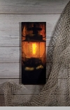"Lighted Canvas Pictures - ""Campers Lantern"""