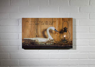 "Lighted Canvas Pictures - ""Candle Light Lantern"""