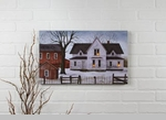 "Lighted Canvas Pictures - ""Farmstead"""