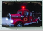 """Lighted Canvas Pictures - """"Fire Truck"""""""
