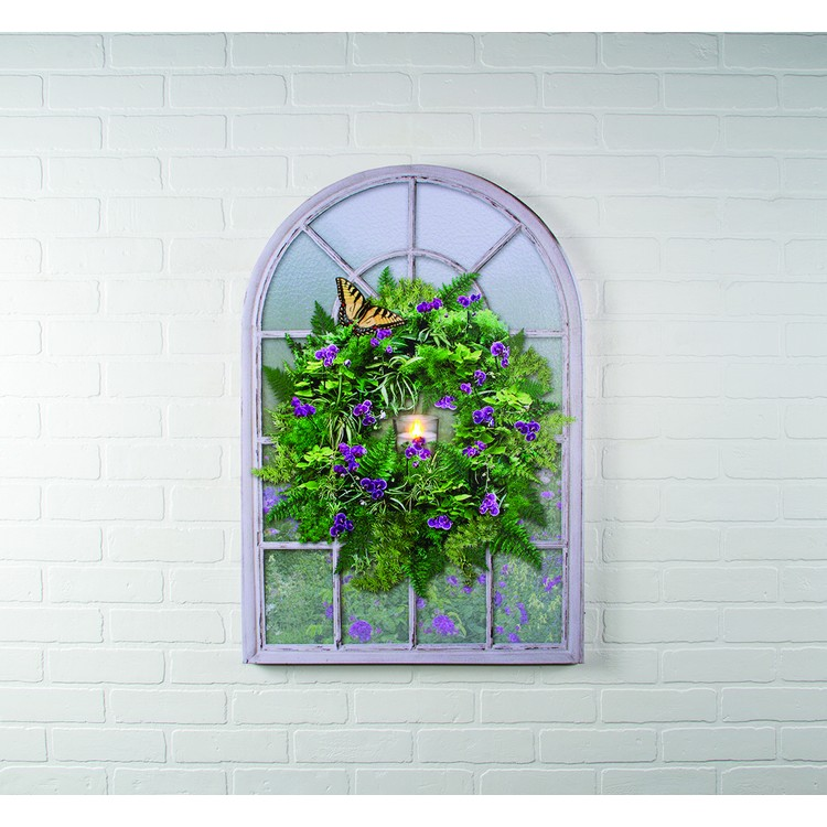 """Lighted Canvas Pictures - """"Frosted Glass Window"""""""