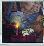 """Lighted Canvas Pictures - """"Gardeners"""""""