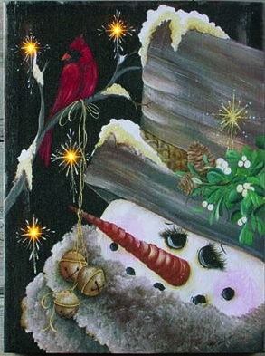 """Lighted Canvas Pictures - """"Jingle All The Way"""""""
