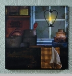 """Lighted Canvas Pictures - """"Kitchen Window"""""""