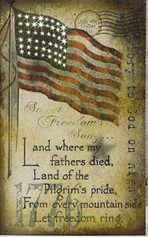 """Lighted Canvas Pictures - """"Let Freedom Ring"""""""