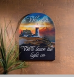 "Lighted Canvas Pictures - ""Lighthouse Welcome"""