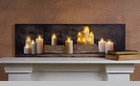 "Lighted Canvas Pictures - ""Mantle Of Candles"""