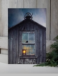 "Lighted Canvas Pictures - ""Olde School House"""