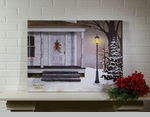 "Lighted Canvas Pictures - ""Peace On Earth"" - Large"