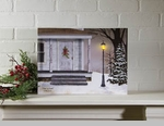 "Lighted Canvas Pictures - ""Peace On Earth"" - Small"