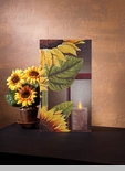 "Lighted Canvas Pictures - ""Sunflower"""