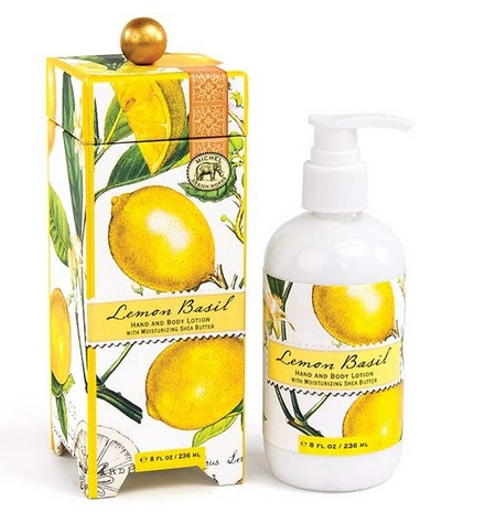 "Hand Lotion - ""Lemon Basil Hand & Body Lotion"""