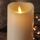 "Luminara� Flameless Candle  - Battery Operated 3"" x 5"" Ivory Candle"""