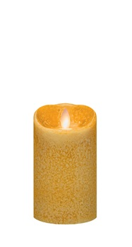 "Mirage Flameless Candle - Battery Operated 5"" x 3"" Spice"