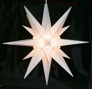 Moravian Star - Lighted - 14""