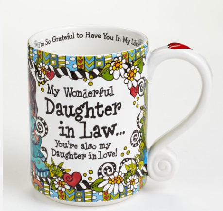 "Mug - ""Suzy Toronto...Daughter In Law"""
