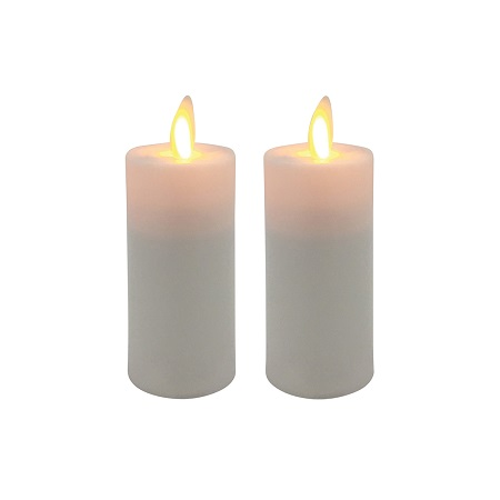 "Mystique Flameless Battery Operated Votives - ""Battery Operated 3"" Votive"" - Set Of 2"
