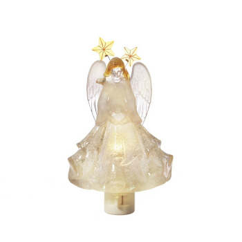 "Night Light - ""Beaded Angel Night Light"""