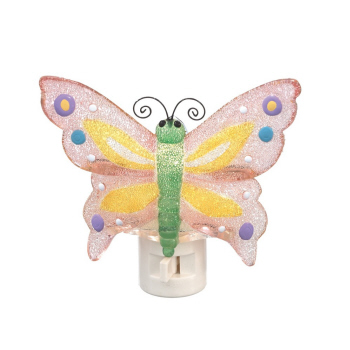 "Night Light - ""Beaded Butterfly Night Light"""