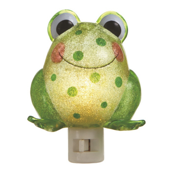 "Night Light - ""Beaded Frog Night Light"""