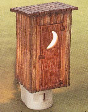 "Night Light  - ""Outhouse Night Light"""