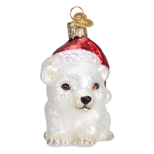 """Old World Christmas Glass Ornament - """"Land Animals - Bears, Elephants, Horses and More"""""""