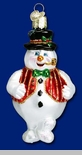 "Old World Christmas Glass Ornament - ""Mr. Frosty"""