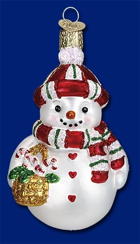 "Old World Christmas Glass Ornament  - ""Sweetie Pie"""