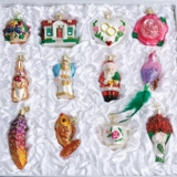 "Old World Christmas Glass Ornament - ""The Bride's Tree Collection"""