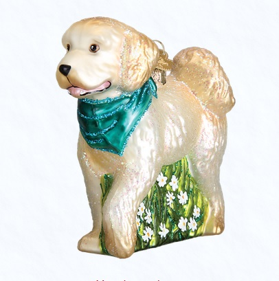 """Old World Christmas Glass Ornaments - """"Dogs and Cats"""""""