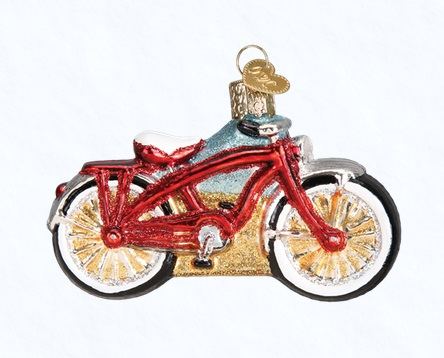 """Old World Christmas Glass Ornaments - """"Vehicles"""""""