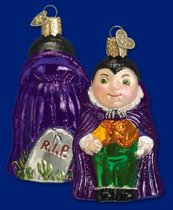 "Old World Christmas Glass Ornarment - ""Lil' Dracula"""