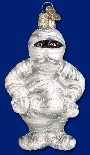 "Old World Christmas Glass Ornarment - ""Mummy"""