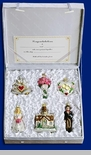 """Old World Glass Ornaments - """"Wedding Collection"""""""