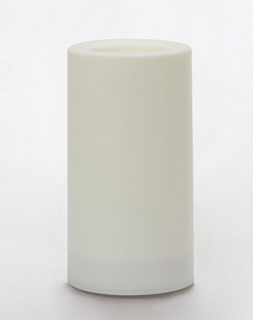 "Outdoor Flameless LED Pillar Color Changing Candle - ""Color Changing Outdoor Candle - 3"" x 5"""