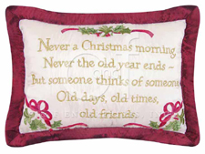 "Pillow - ""Never A Christmas Morning�. Pillow"""