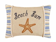 "Pillow - ""Beach  Bum Pillow"""