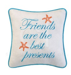 "Pillow - ""Friends Are The Best Presents Pillow"""