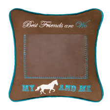 "Pillow - ""My Horse And Me Picture Pillow"""